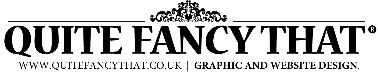 Quite Fancy That – Graphic and website design services.